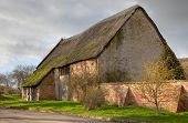 Large Thatched Barn, England