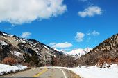 Winter on La Plata Canyon