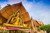 The Golden Buddha Image, Wat Tum Sue