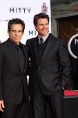 LOS ANGELES - DEC 3:  Ben Stiller, Tom Cruise at the Ben Stiller Handprint and Footprint Ceremony at