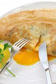 brik, egg and tuna turnover, tunisian food