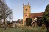 Warwickshire Stone Church poster