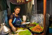 Street food at Hua Hin night market