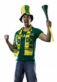 Brazilian Fan Celebrating