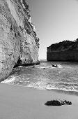 image of 12 apostles  - Loch Ard Gorge on the Great Ocean Road Australia near the Twelve Apostles - JPG
