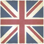 Union Jack old background