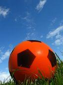 Ball And Beautiful Sky