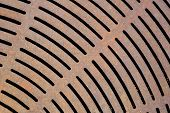 Rusty Cast Iron Grate