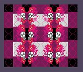 Abstract Emo Pattern