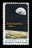 Apollo 8 Us Postage Stamp