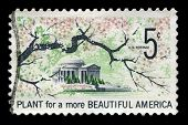Plant For A More Beautiful America Us Postage Stamp