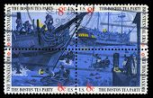 Boston Tea Party Us Postage Stamps