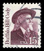 Buffalo Bill Cody Us Postage Stamp