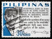 Postage Stamp Philippines 1966 Emilio Aguinaldo, Revolutionary A