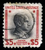 Calvin Coolidge Us Postage Stamp