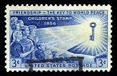 Childrens Us Postage Stamp