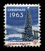 Christmas 1963 Us Postage Stamp