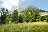 Passo Di Costalunga, Dolomites