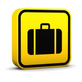Square Baggage Sign