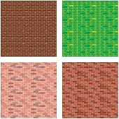 Fancy Brick Background Vector