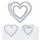 Paper Clip. Vector Illustration