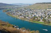 Bernkastel-Kues town, Moselle winemaking region, Germany