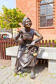 Market Woman Statue, Torun, Poland