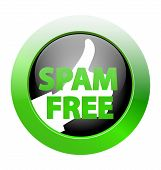 Spam Free Zone Icon