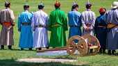 Colorful Traditional Costumes, Nadaam Opening Ceremony