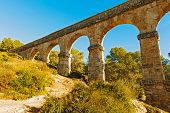 Devil Bridge In Tarragona, Spain