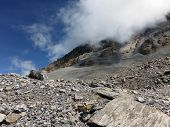 Rocky And Dry Landscape At 5400M In Himalayas
