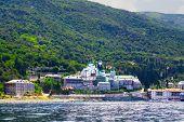 Monastery St.panteleimonos At Agion Oros (holly Mountain) Greece