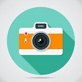 Flat Style Camera