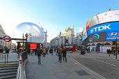 Piccadilly Circus Christmas