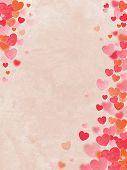 Valentine's Day background. Power of Love