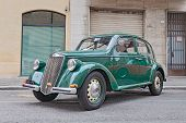 Old Italian Car Lancia Ardea (1951)