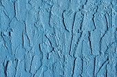 blue stucco background