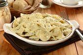 Farfalle Pasta With Basil Pesto