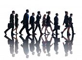 Business People Corporate Walking Travel Concept
