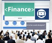 Business People Finance Presentation Concept