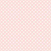 Seamless pink polka dot background pattern