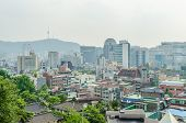 Cityscape Of Seoul And Seoul Tower