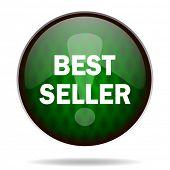 best seller green internet icon