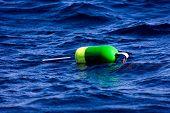 Floating lobster buoy