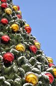 Cristmas Balls And New Year's Fir Tree