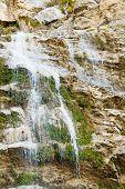 Waterfall Uchan-su In Autumn
