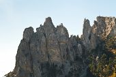 Ai-petri Rocks In Crimean Mountains