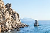 Parus (sail) Rock, Ayu-dag Mount, Crimea