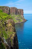 image of kilt  - The Kilt rock on the Isle of Skye in Scotland