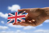 Small Flag Of Great Britain